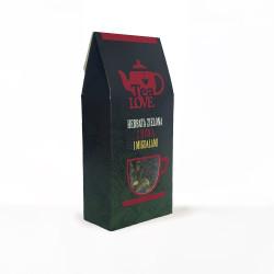 Zielona herbata Tea LOVE z wiśnią i migdałami - chińska, liściasta propozycja z dużymi aromatycznymi dodatkami to prawdziwe ukojenie dla podniebienia.