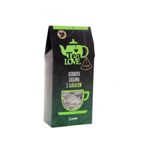 Zielona herbata Tea LOVE to propozycja dla osób, które cenią sobie starannie dobrane składniki, delikatny smak i prozdrowotne właściwości.