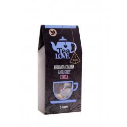 Herbata Tea LOVE czarna earl grey z różą piramidki (15 szt.)