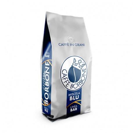 Kawa Borbone BLU w kilogramowym opakowaniu to mieszanka dedykowana w szczególności osobom, które potrzebują o poranku solidnego zastrzyku energii.Źródło pochodzenia arabiki (30%) to Brazylia i Wybrzeże Kości Słoniowej, a robusty (70%) Indie oraz Uganda.