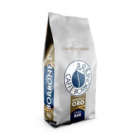 Caffè Borbone ORO 80% arabika 20% robusta to tradycyjna neapolitańska mieszankamocno wypalonych ziaren.