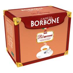 Wysoka jakość ziaren i energia na cały dzień - kapsułkiRespressoCaffèBorboneBLU gwarantująto, jednocześnie pozwalając oddać sięprzyjemnemu, egzotycznemu smakowi.Blend składa się w 70% zrobustyi w 30% zarabiki.