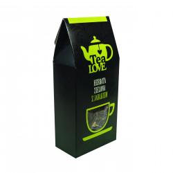 Zielona herbata Tea LOVE – oryginalna kompozycja na beztroski czas. Rozsmakuj się w starannie wyselekcjonowanych, naturalnych składnikach!