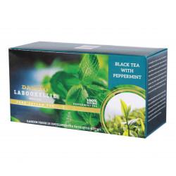 Czarna Herbata DAMRO Mięta Pieprzowa jest doskonałym wyborem dla miłośników intensywnych smaków. Ten odświeżający napój zapewni ulgę po każdym posiłku.