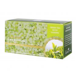 Unikatowy smak zielonej cejlońskiej herbaty został wzbogacony aromatyczną nutą jaśminu, tworząc idealną propozycję dla miłośników ciekawych kompozycji.