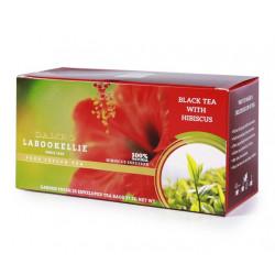 Marka Damro specjalizuje się w odkrywaniu nowych smaków herbacianych. Hibiscus w połaczeniu z czarną nadaje naparowi lekkości. Hibiscus wzmacnia, ma działanie oczyszczające organizam z toksyn.