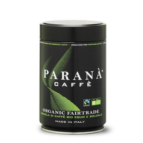 Niewielka zawartość kofeiny w połączeniu z bogatym bukietem aromatów (arabika 100%) - to przepis na unikatowy smak, który ma w sobie organiczne mielonakawa PARANÀ FAIRTRADE.