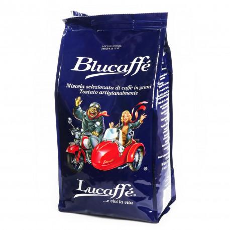 Kawa Lucaffé Blucaffé to ciekawy i ekskluzywny miks 90% arabiki i 10% robusty z tajnym dodatkiem najlepszej arabiki na świecie - Jamaica Blue Mountain.