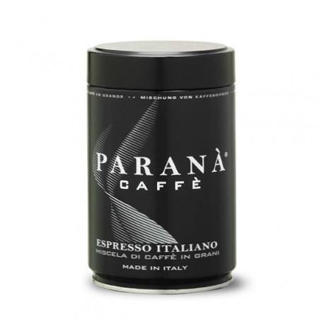 Owocowa nuta zamknięta w ziarnach arabiki (20%) i robusty (80%) sprawia, że kawa PARANÀ Espresso Italiano zachwyci smakoszy mocnej kawy z delikatnymi akcentami.