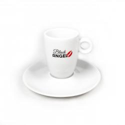 Na każdym stole miłośnika kawy powinna się znaleźć filiżanka Espresso Black Angel. Jej wyjątkowy kształt oraz najwyższa jakość podkreślą smak wyśmienitej kawy.
